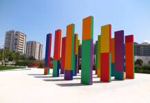 Il Giardino Incantato di Pescara è un'opera d'arte contemporanea che rappresenta quello che è il cosiddetto filone dell'arte nei luoghi pubblici.
